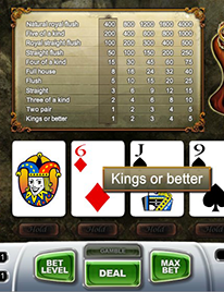 Joker Wild Poker Screenshot 2