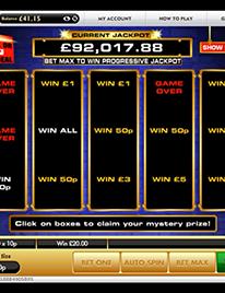 Deal or No Deal Slot Screenshot 1