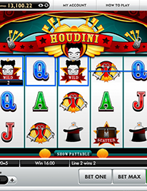 Houdini Slot Screenshot 1