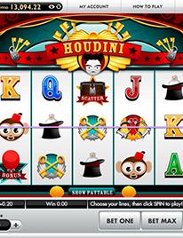 Houdini Slot Screenshot 3