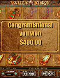 Valley of the Kings Slot Screenshot 2