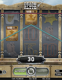 Dead or Alive Slot Screenshot 1
