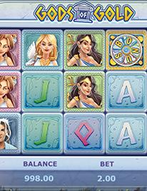 Gods of Gold Slot Screenshot 1