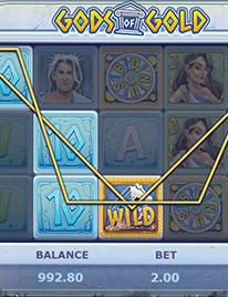Gods of Gold Slot Screenshot 2