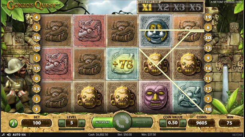 Gonzo's Quest Screenshot 3