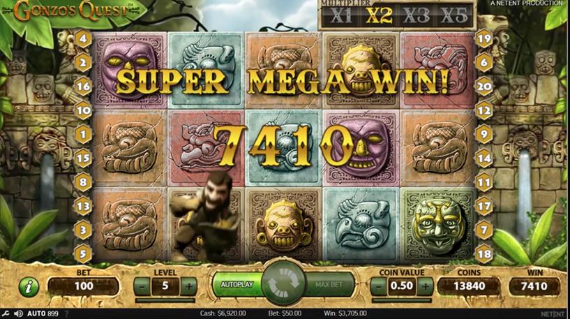 Gonzo's Quest Screenshot 1