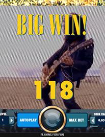 Guns N' Roses Slot Screenshot 3