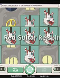 Jimi Hendrix Slots Screenshot 1