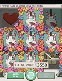 Jimi Hendrix Slots Screenshot 2