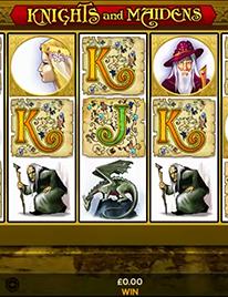 Knights and Maidens Slot Screenshot 1