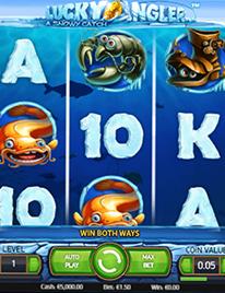 Lucky Angler Slot Screenshot 1
