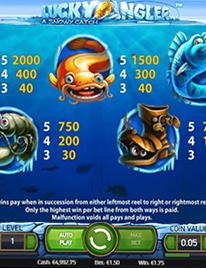 Lucky Angler Slot Screenshot 3