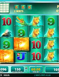 Raging Rhino Slot Screenshot 1