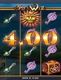 The Wiz Slot Screenshot 2