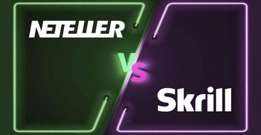 Neteller vs. Skrill – Which Deposit Method Is Best for Online Gambling?