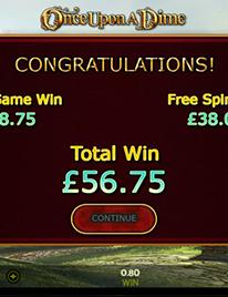 Once Upon A Dime Slot Screenshot 3
