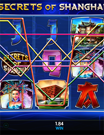 Secrets of Shanghai Slot Screenshot 2