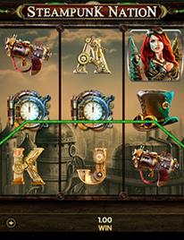 Steampunk Nation Slot Screenshot 3