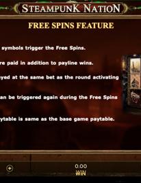 Steampunk Nation Slot Screenshot 1