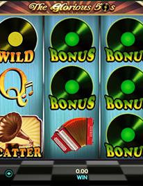 The Glorious 50's Slot Screenshot 1