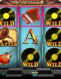 The Glorious 50's Slot Screenshot 2