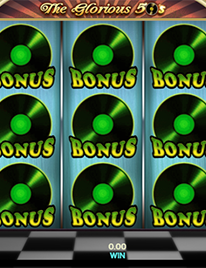 The Glorious 50's Slot Screenshot 3