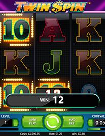 Twin Spin Slot Screenshot 3