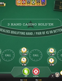 3 Hand Casino Hold'em Screenshot 2