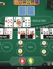 3 Hand Casino Hold'em Screenshot 1