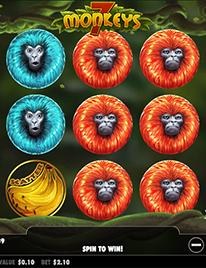 7 Monkeys Slot Screenshot 1