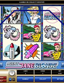 Agent Jane Blonde Slot Screenshot 2