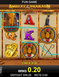 Amulet of the Pharaoh Slot Screenshot 3