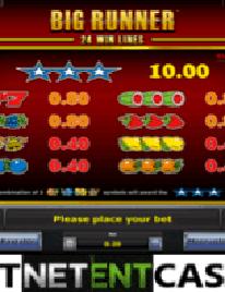 Big Runner Slot Screenshot 1