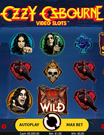 Ozzy Osbourne Slot Screenshot 1