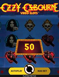 Ozzy Osbourne Slot Screenshot 3