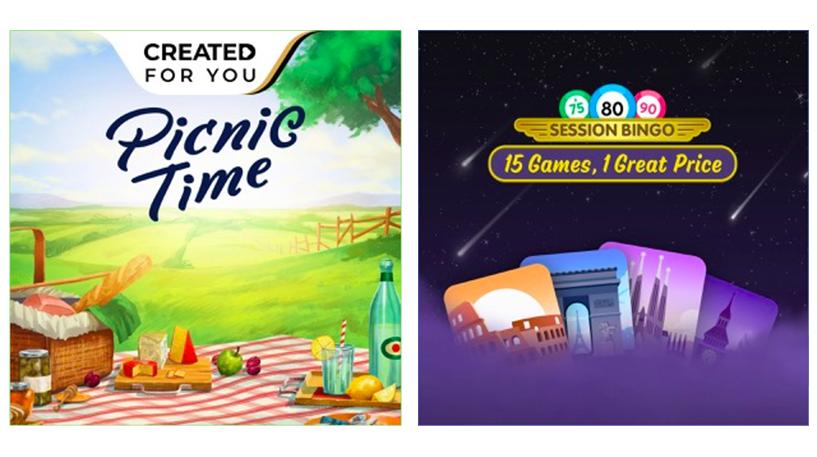 Picnic Time Bingo Screenshot 1