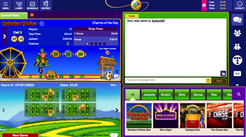 Rainbow Riches Bingo Screenshot 3
