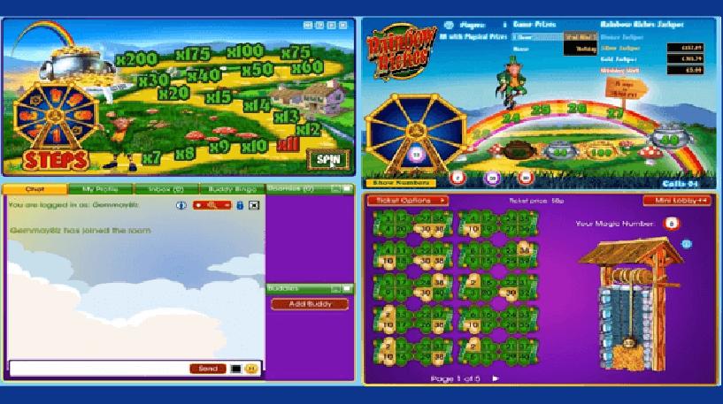 Rainbow Riches Bingo Screenshot 2