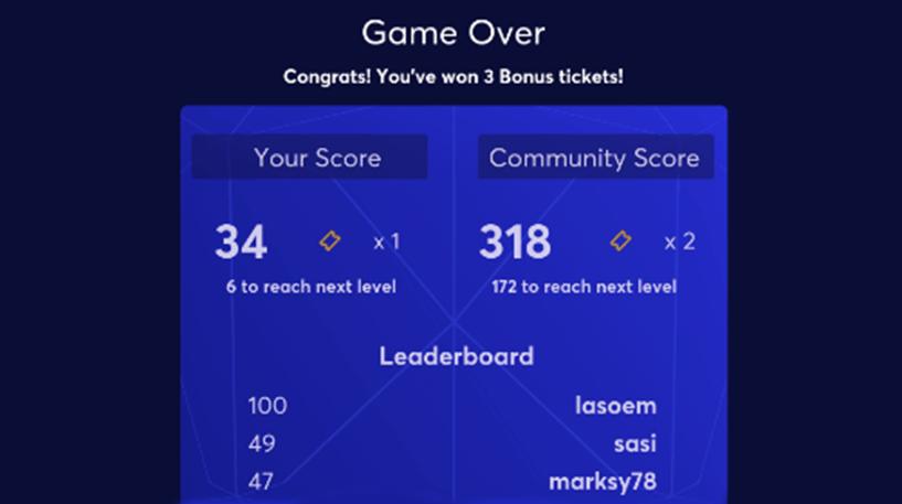 Crystal Maze Bingo Screenshot 3