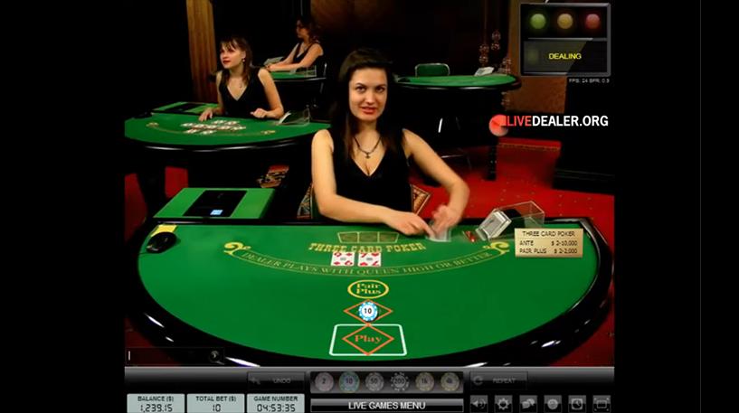 Live Three Card Poker Screenshot 3