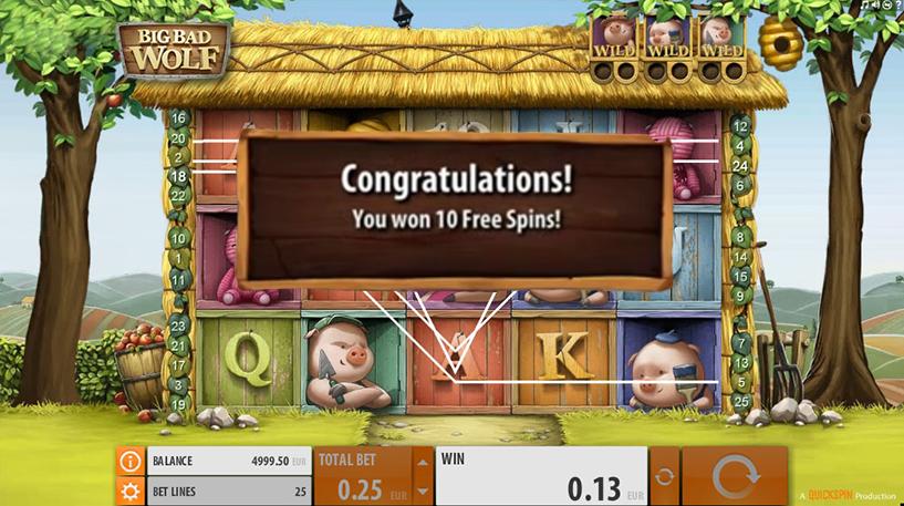 Big Bad Wolf Slot Screenshot 1
