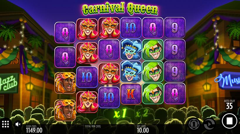 Carnival Queen Slot Screenshot 3