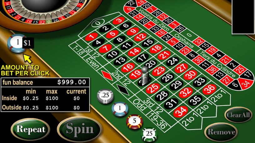 European Roulette Screenshot 3