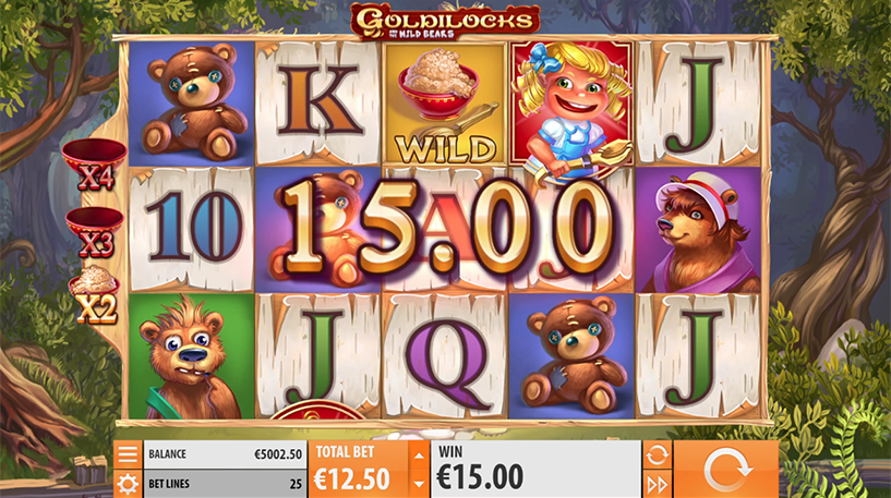 Goldilocks Slot Screenshot 3