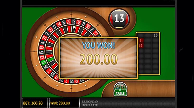 Low Stakes European Roulette Screenshot 1