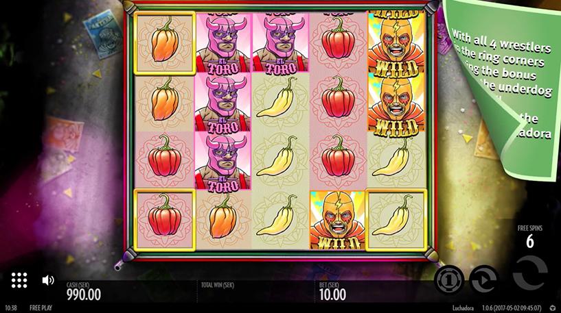 Luchadora Slot Screenshot 3