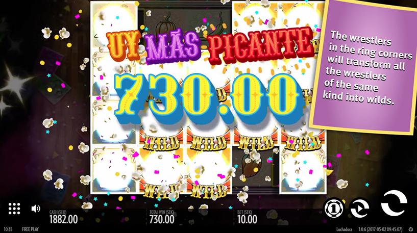 Luchadora Slot Screenshot 2
