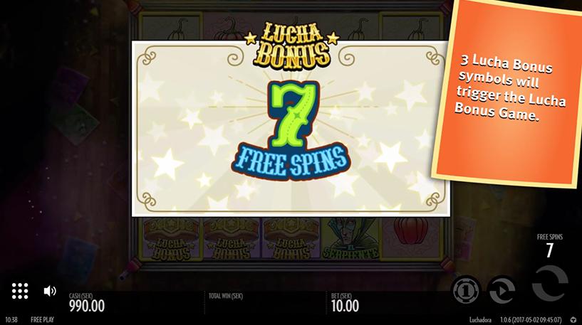 Luchadora Slot Screenshot 1
