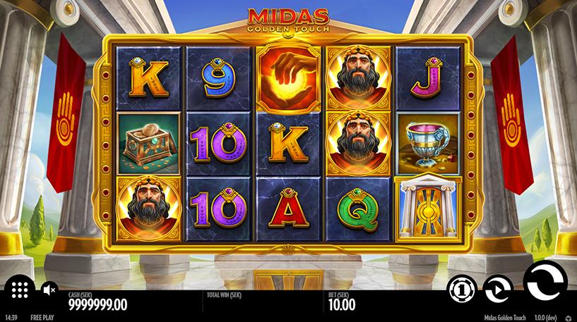 Midas Golden Touch Slot Screenshot 2