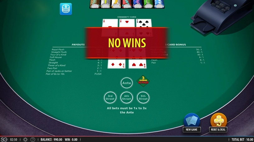 Mississippi Stud Poker Screenshot 1